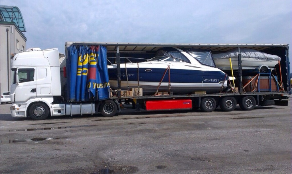 специализиран транспорт на яхти